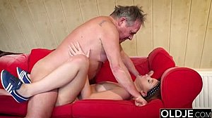 Fucking, Blowjob, Cute, Cumshot, Old and young, Fat, Dad and girl